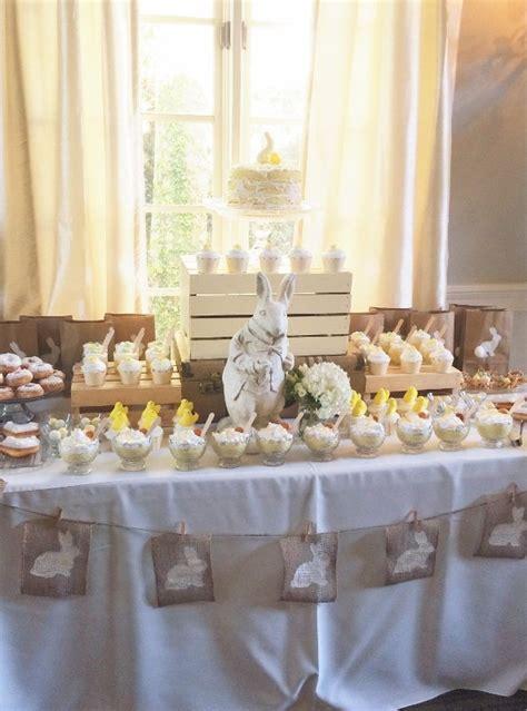 whimsical easter dessert table diy inspired