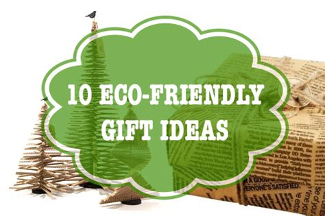 10 Eco Friendly Gifts For Your Christmas