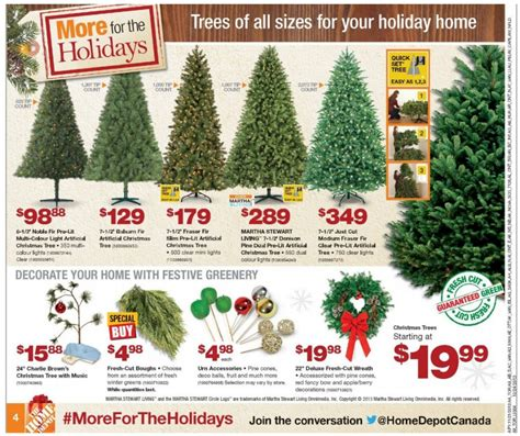 christmas tree coupons home depot all canadian flyers grocery electronics furniture and other flyers
