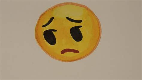 How To Draw The Sad Face Emoji