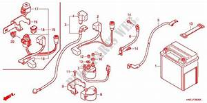 Wire Harness  Battery For Honda Fourtrax 500 Foreman
