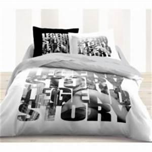 Mot cle mode housse ado decorer for Tapis chambre ado avec housse de couette noir et blanc 260x240