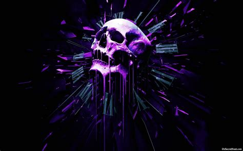 Purple Skull Wallpapers - Wallpaper Cave