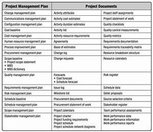 su khac biet giua project management plan list va project With tender documents project management