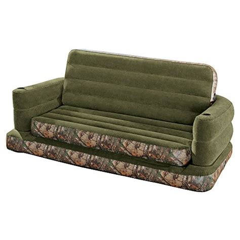 queen pull out sofa intex inflatable realtree camo print queen size pull out