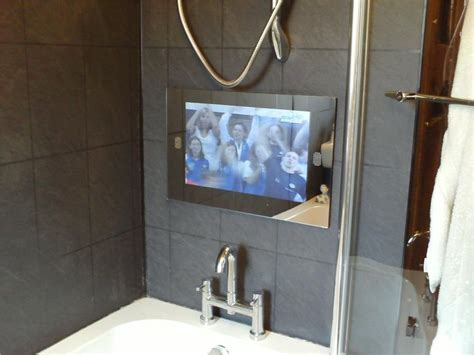 Mirror Tv For Bathroom by 25 Best Ideas About Bathroom Tvs On Tvs For