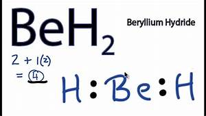 Beh2 Lewis Structure