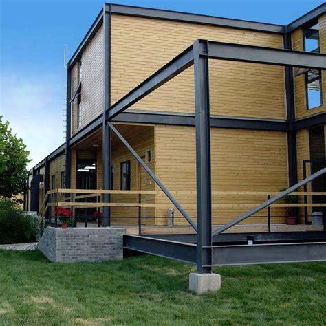 Haus Aus Stahl by Prefab House Original Design Wood Wooden Steel Structure