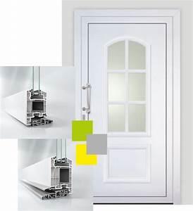 portes d39entree pvc 68 schuco haut rhin visioferm With porte d entrée pvc en utilisant fermeture porte pvc