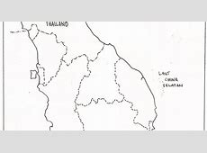 PENCINTA GEOGRAFI peta kosong semenanjung malaysia