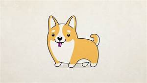 [How To Draw] A Cute Dog - YouTube
