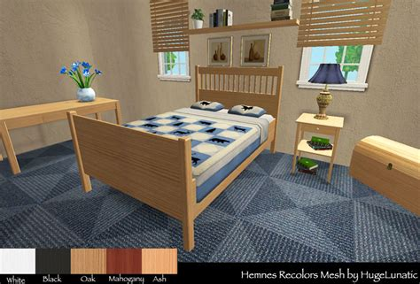 Ikea Hemnes Bedroom Set by Mod The Sims Hemnes Bed Amp Study Recolor Not Ikea Sp