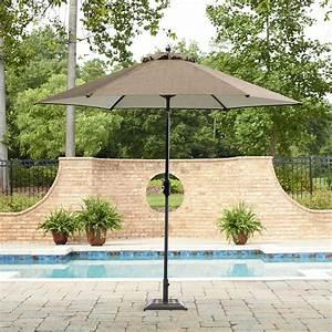 Review Garden Oasis Harrison 9' Patio Umbrella