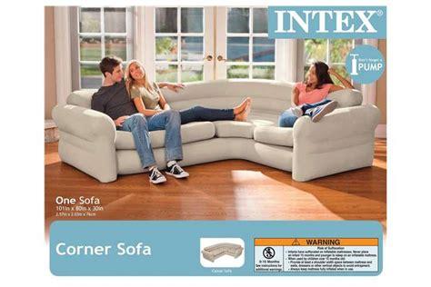 intex inflatable corner sectional sofa 68575ep