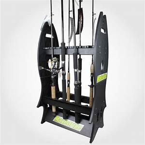 16 Piece Fishing Rod Holder Rack
