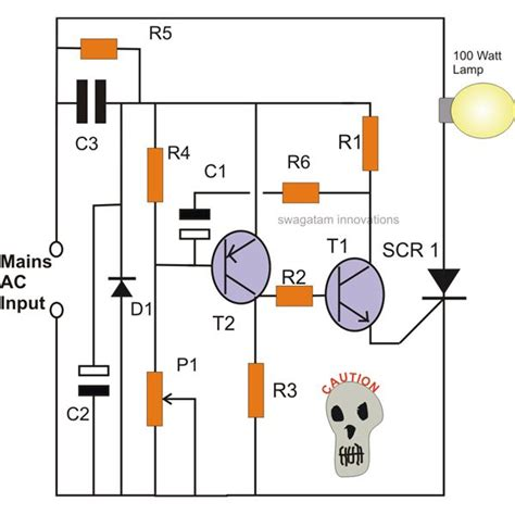 How Make Simple Scr Circuits