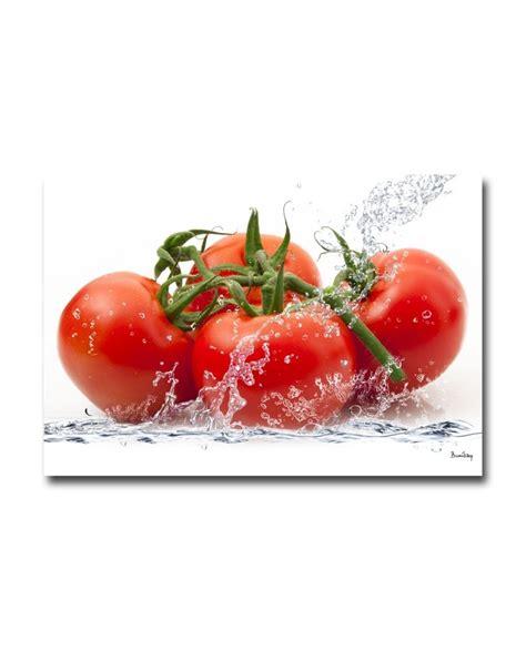 tableau plexiglass cuisine tomates