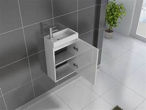 Waschbecken Gäste Wc : g ste wc waschbecken 40 x 22 cm wei vega g nstig ~ Watch28wear.com Haus und Dekorationen