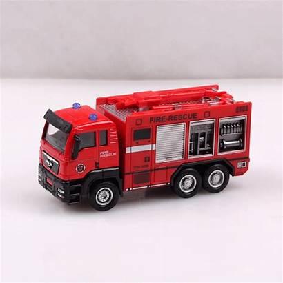 Truck Fire Ladder Toy Aerial Garbage Water