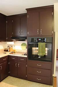 brown painted kitchen cabinets silver hardware looks With kitchen colors with white cabinets with 5 sticker