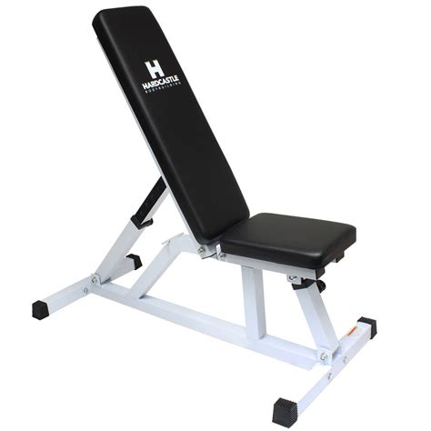 Bench Adjustable by Hardcastle White Adjustable Flat Incline Weight Bench Home