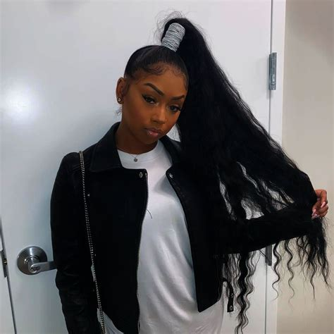 scunci  damage elastics black girl hairstyles weave ponytail hairstyles high ponytail