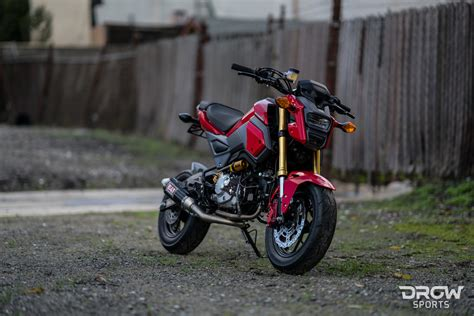 Honda Grom With Ohlins Front