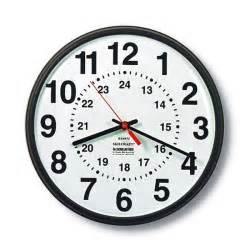 24 Hour Clock Face