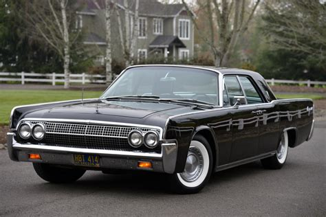 iconic 1963 lincoln continental offered at auction with no reserve carscoops