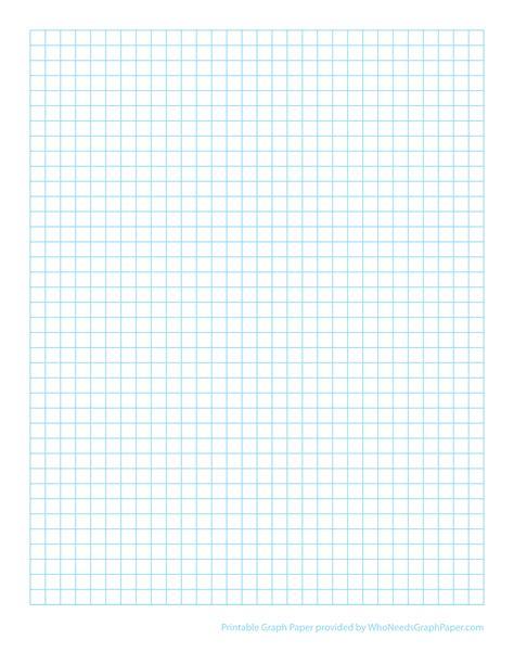 Printable Graph Paper Print