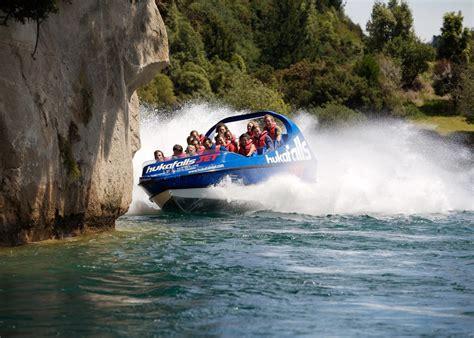 Huka Jet Boat hukafalls jet boat audley travel