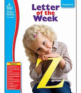 letter of the week resource book grade preschool k With letter of the week books