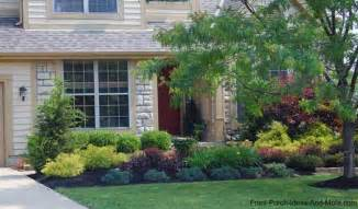 landscaping ideas in front of porch lewis center ohio front yard landscaping front porch designs