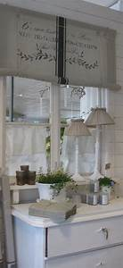 Shabby Chic Vorhänge : shabby chic style blauw wit pinterest gardinen wohnen und vorh nge ~ Markanthonyermac.com Haus und Dekorationen