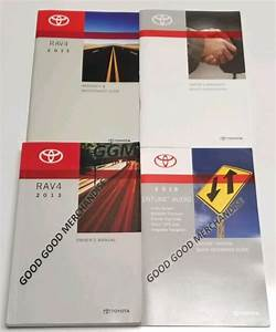 2013 Toyota Rav4 Owners Manual User Guide Sport Suv Le Xle