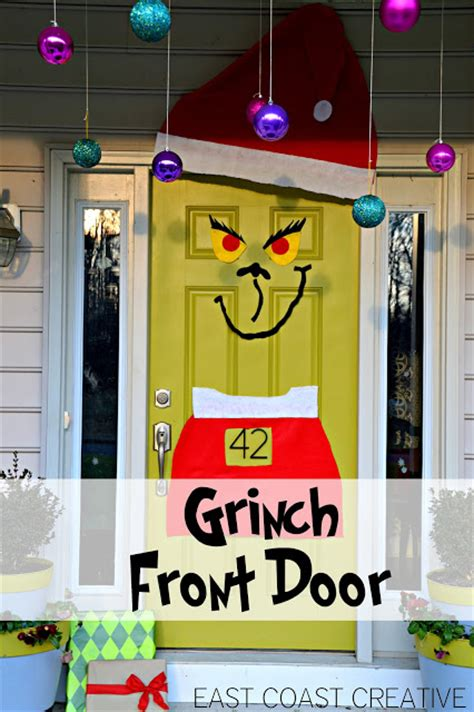 The Grinch Front Door {christmas 2012}