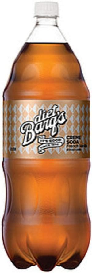 Adding sugar, syrups, cream or creamers will raise the calorie count, however. Barq's Diet French Vanilla Contour Creme Soda - 2 l, Nutrition Information | Innit