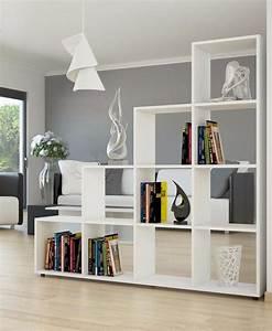 Séparateur De Pièce Ikea : meuble tag re s parateur de pi ce blanc ciel et terre ~ Dailycaller-alerts.com Idées de Décoration