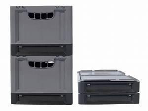 Klappbox Mit Deckel : clever move klappbox mit deckel 600 x 400 x h 343 mm transoplast gmbh ~ Markanthonyermac.com Haus und Dekorationen