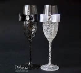 wedding decor 14 ideias de como decorar as taças dos noivos