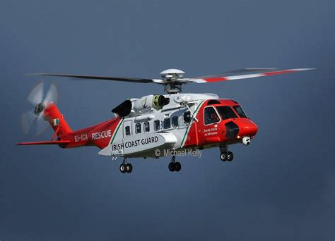 irish coast guard sikorsky s 92 helicopter crashed off the