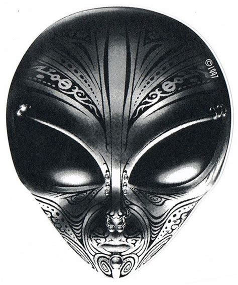 tribal alien tattoo design art cool tattoos continues alien tattoo tattoo designs
