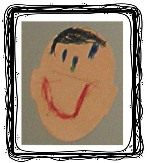 preschool ponderings preschool self portrait project 625 | portrait 1