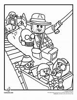 Coloring Lego Pages Police Popular Legos sketch template