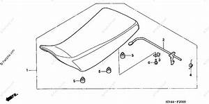 Honda Atv 2001 Oem Parts Diagram For Seat