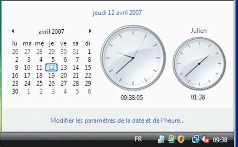 horloge de bureau windows horloge et calendrier pour ordinateur gratuit
