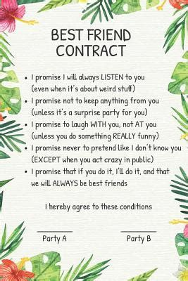 friend contract  elderberrys designs