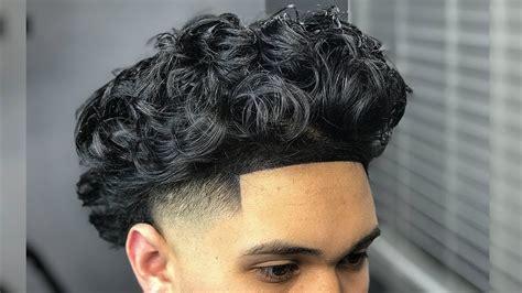 Curly Hair High Taper Fade! Haircut Tutorial (self Cut