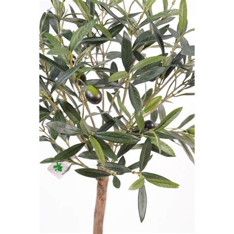 olivier artificiel plant en pot 35cm arbres mediterraneens