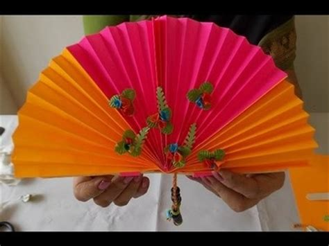 how to make a chinese fan diy how to make an easter wreath my crafts and diy projects